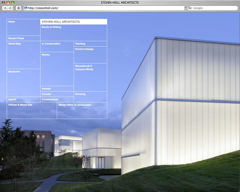 Website arhitectura